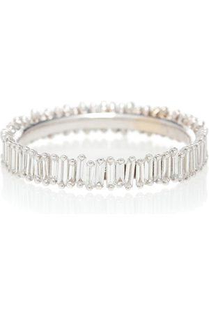 Suzanne Kalan Ring Eternity aus 18kt Weißgold mit Diamanten