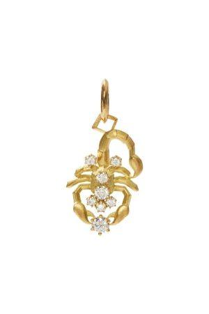 Jade Trau Scorpio Diamond & 18kt Zodiac Charm