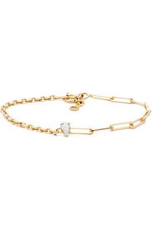 YVONNE LÉON Diamond & 18kt Mixed-chain Bracelet