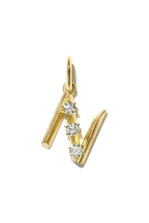 Jade Trau Diamond & 18kt Initial Charm (n-z)