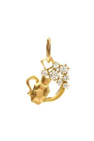 Jade Trau Aquarius Diamond & 18kt Zodiac Charm