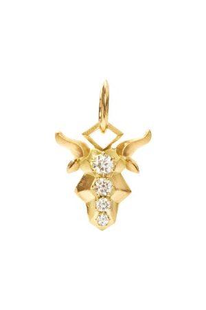 Jade Trau Capricorn Diamond & 18kt Zodiac Charm
