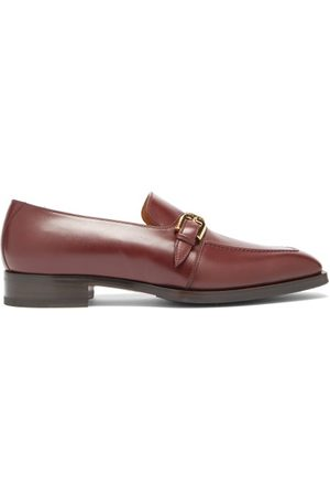 Gucci Zola Buckled Leather Loafers