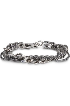 EMANUELE BICOCCHI Silver Multi Chain bracelet