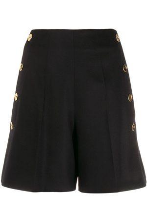 Patou Damen Shorts - Shorts mit seitlichen Knöpfen