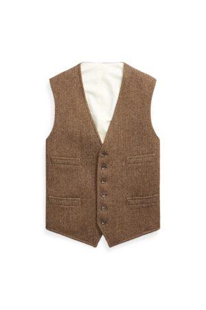 Polo Ralph Lauren Wool Herringbone Vest