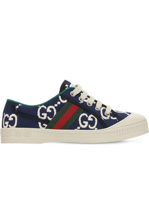 """Gucci Sneakers Aus Stretch-baumwolle """"gg"""""""