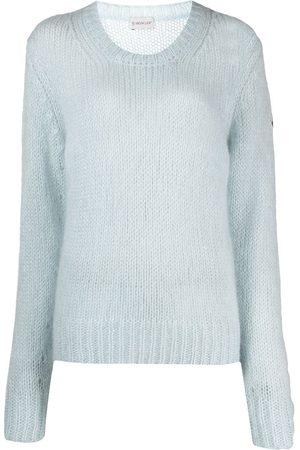 Moncler Pullover mit rundem Ausschnitt