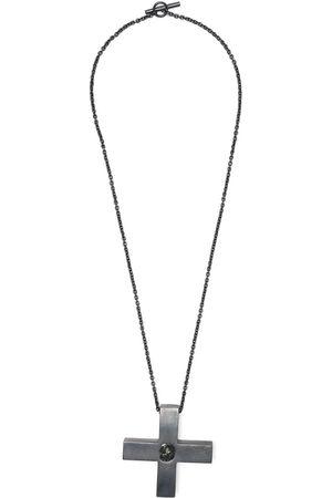 PARTS OF FOUR Halsketten - Plus Halskette mit einem Diamanten