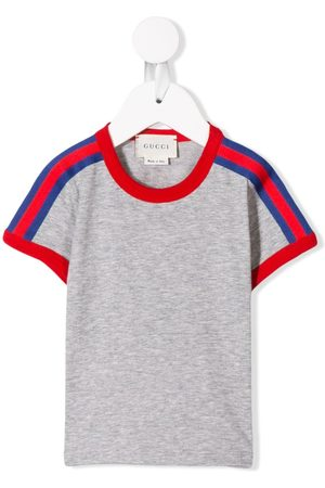 Gucci Kids Gestreiftes T-Shirt
