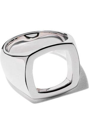 Tom Wood Ring mit rechteckigem Design