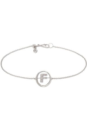 ANNOUSHKA Damen Armbänder - Armband mit F-Initiale
