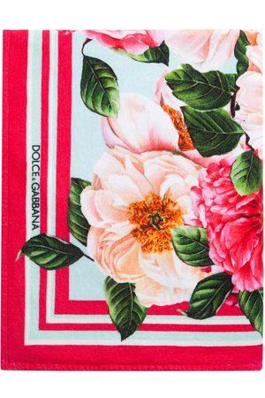 Dolce & Gabbana Damen Schals - Schal mit Blumen-Print