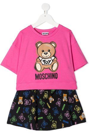 Moschino Mädchen Jogginganzüge - Zweiteiler mit Teddy-Print