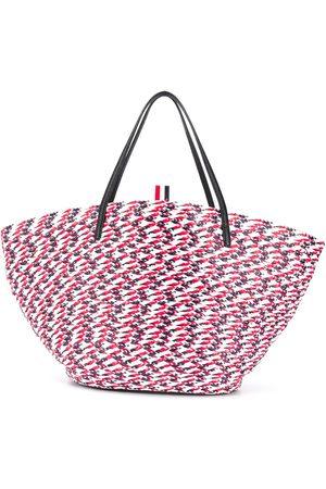 Thom Browne Damen Handtaschen - Shopper mit Flechtmuster