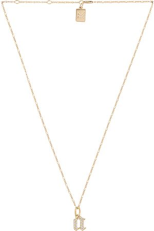 MIRANDA FRYE Damen Halsketten - Gothic Charm & Van Chain Necklace in . Size C, E, F, G, I, J, K, M, N, O, P, R, T.