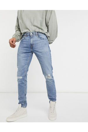 Levi's Levi's Youth 512 – Lo-Ball – Schmal zulaufende Jeans im Used-Look in mittlerer Dolf-Metal-Advanced-Waschung