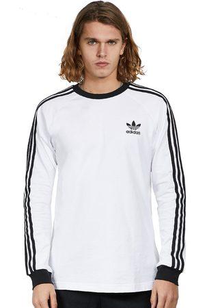 adidas Herren Longsleeves - 3-Stripes Longsleeve T-Shirt