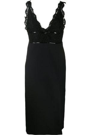 Gucci Kleid mit V-Ausschnitt