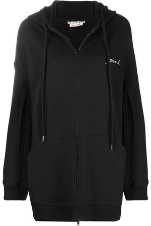 Marni Damen Sweatshirts - Bestickter Hoodie
