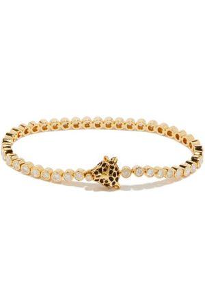 Yvonne Léon Leopard Diamond & 18kt Bracelet