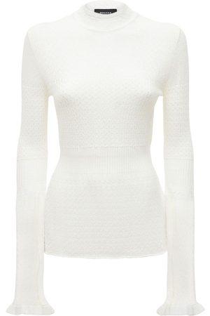 Rochas Sweater Mit Zopfstrick