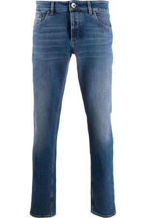 Brunello Cucinelli Halbhohe Skinny-Jeans