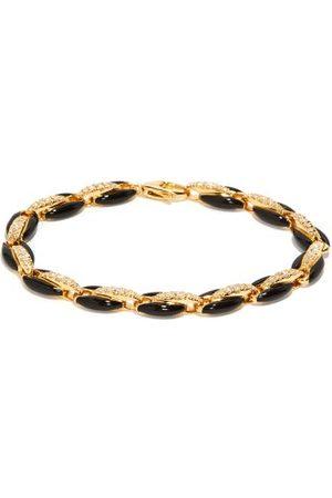 Melissa Kaye Ada Diamond, Enamel & 18kt Bracelet