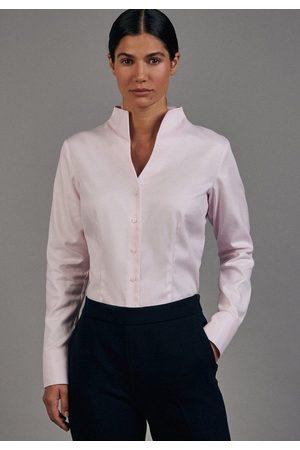 Seidensticker Klassische Bluse »Schwarze Rose« Langarm Kragen Uni