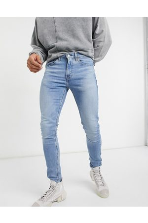 """Levi's Levi's – Youth 519 Hi Ball– Superenge Jeans in heller """"Wolf Good Decisions Advance""""-Waschung"""