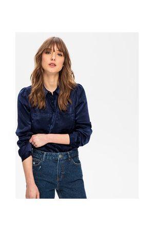 Promod Damen Blusen - Seidige Bluse