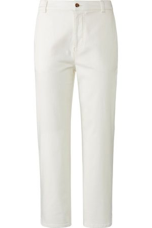 DAY.LIKE 7/8-Slim Fit-Hose weiss
