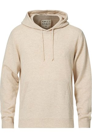 People´s Republic of Cashmere Herren Sweatshirts - Cashmere Hoodie Oatmilk