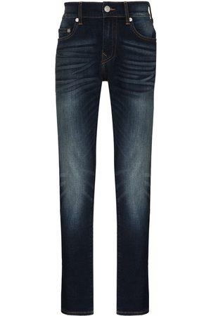True Religion Herren Skinny - Ausgeblichene Rocco Skinny-Jeans