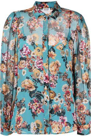 Liu Jo Hemd mit Blumen-Print