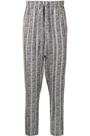 Dolce & Gabbana Geblümte Pyjama-Hose aus Seide