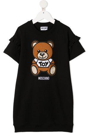 Moschino Mädchen Freizeitkleider - T-Shirtkleid mit Teddy