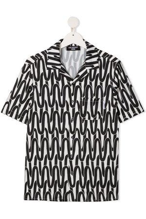 Neil Barrett TEEN Hemd mit Print