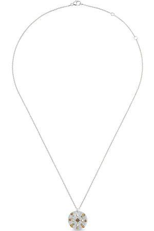 De Beers Damen Halsketten - 18kt Weißgoldhalskette mit Diamanten