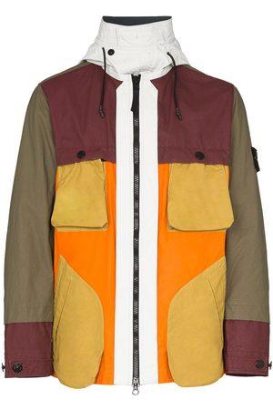Stone Island Jacke in Colour-Block-Optik