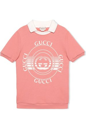 Gucci Kleid mit Gucci Schallplatten-Print