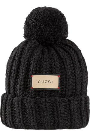 """Gucci Damen Hüte - Mütze Aus Wollstrick """"bignabel"""""""