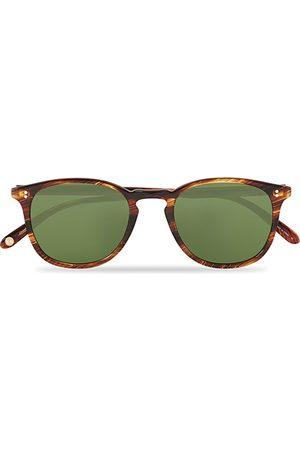 GARRETT LEIGHT Kinney 49 Sunglasses Chestnut