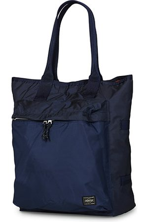 PORTER-YOSHIDA & CO Force Tote Bag Navy Blue