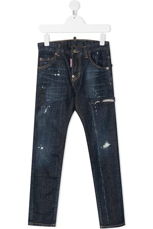 Dsquared2 Cool Guy Jeans mit Farbklecksen