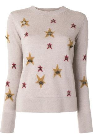 CHANEL Star' Intarsien-Pullover