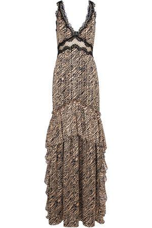 Costarellos Bedruckte Robe Farrah aus Chiffon