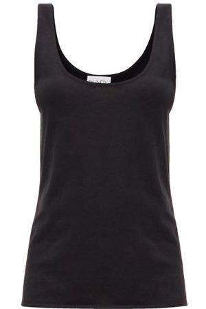 Raey Scoop-neck Cotton-blend Jersey Tank Top