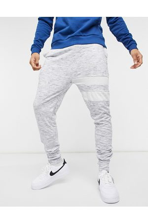 Le Breve – Mix and Match – Lounge-Jogginghose in gestreift