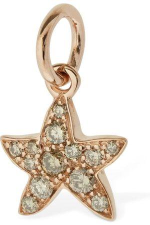 """Dodo 9 Kt Gold-anhänger Mit Diamanten """"stella Marina"""""""